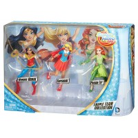 DC Super Hero Girls Triple Team Collection Dolls 3 Pack